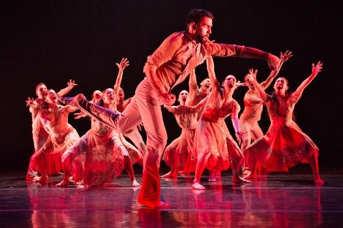 Ballet Hispanico in Ramon Oller's 'Bury Me Standing.'