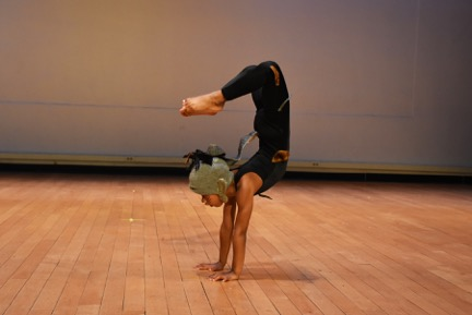 One of Loco-Motion's youngest dancers explores the acrobatic nature of cats in 'Caper.'