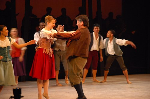 The Nilas Martins Dance Company performs Puccini's Le Villi in a production for dancers and singers staged by choreographer Stephen Pier at Dicapo Opera Theatre