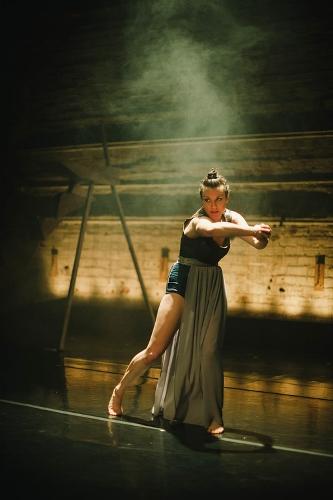 Elu Dance Company's Mackenzie Valley in 'barefaced.'