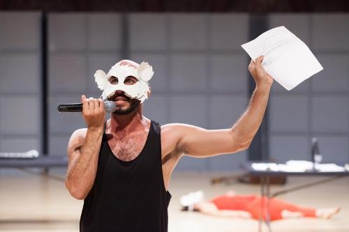 Hope Mohr Dance's Wiley Naman Strasser in 'Manifesting.'