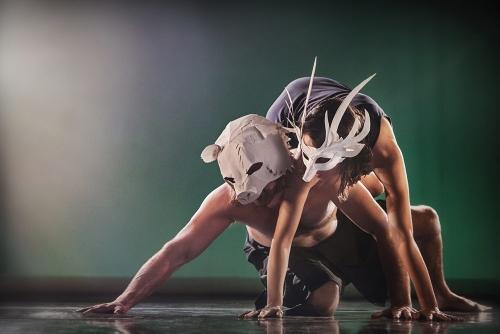 "Hope Mohr Dance's Jane Selna and Patrick Barnes ""Manifesting."""