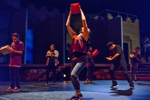 Versa-Style Dance Company<br>in 'Box of Hope.'