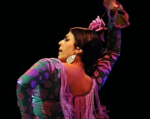 Leilah Broukhim in 'Forever Flamenco.'