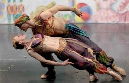 Moscow Ballet in the 'Great Russian Nutcracker.'