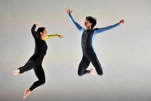 Aya Wilson and Ryan Yamauchi in Doug Varone's 'ReComposed.'