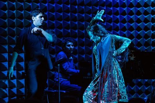 "Sonia Olla and Ismael Fernández in ""Raudal."""
