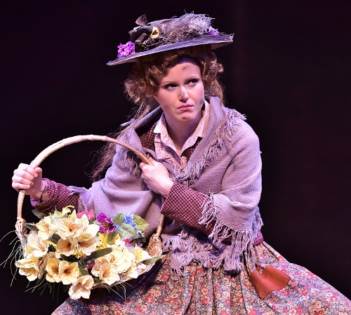 Kimberly Doreen Burns plays Eliza Doolittle in Beef & Boards Dinner Theatre's production of My Fair Lady, now on stage through May 14. It's a role which has previously earned her the Broadway World Award for Best Actress in a Musical. The Tony Award winning musical is returning to the Beef & Boards stage after a 20-year hiatus.