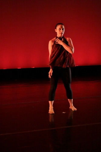 Antaeus Dance's Heather Koniz Young in Joan Meggitt's 'UpShift.'