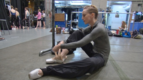 A scene from Got The Shot Films Production 'Restless Creature: Wendy Whelan.'