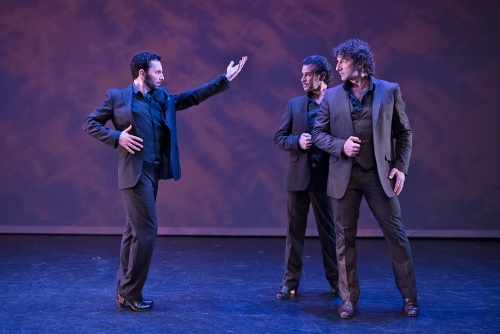 Pictured L to R - Isaac Tovar, Antonio Hidalgo, Angel Mu&ntilde;oz<br>in &ldquo;Caminos,&rdquo; choreography by Angel Mu&ntilde;oz.