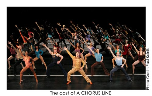 The cast of A Chorus Line