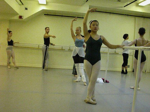 Deborah Wingert's Level 7 Ballet Class at Studio Maestro
