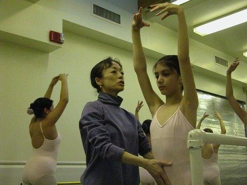 Noriko Hara's Level 3 Ballet Class at Studio Maestro
