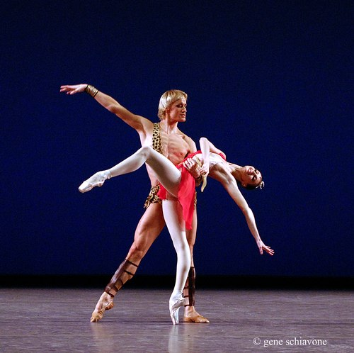 Anastasia and Denis Matvienko in 'Diana and Acteon' pas de deux from Stars of the 21st Century