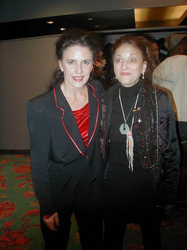 Therese Capucilli and Jacqulyn Buglisi After the Performance