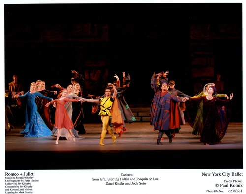 Sterling Hyltin and Joaquin de Luz, Darci Kistler and Jock Soto in NYCB's Romeo + Juliet