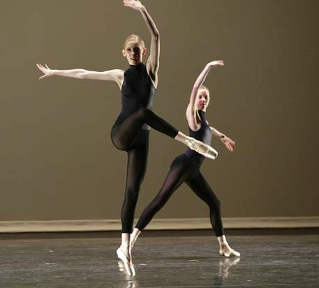 The Colburn Dance Institute, 'Choreographic Study From Second Detail', Choreography by William Forsythe