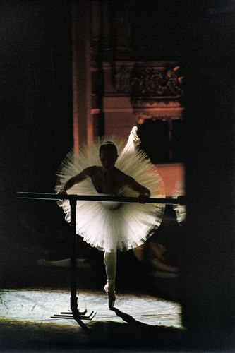 A dancer in the Paris Opera Ballet