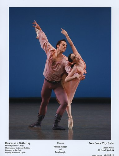 Jenifer Ringer and Jared Angle in NYCB's Dances at a Gathering