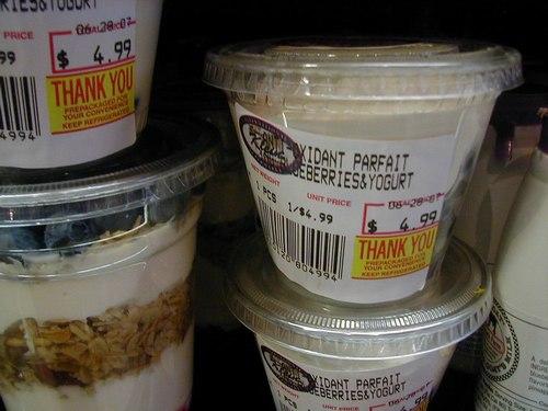 Anti-Oxidant Yogurt Parfait