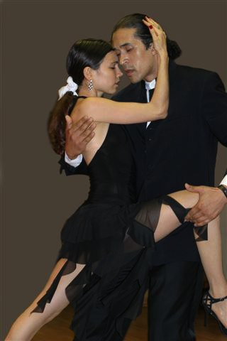 Annatina & Hernan performing at the New York Tango Festival 2006