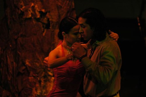 Annatina & Hernan performing for the '4 seasons Tango' at the Thalia Theatre (Contraste)