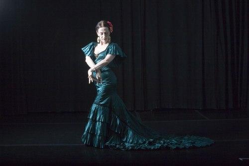 Andrea del Conte Danza Espana, the flamenco dance company. New York City.