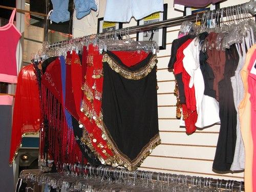 Black Belly Dance Skirt