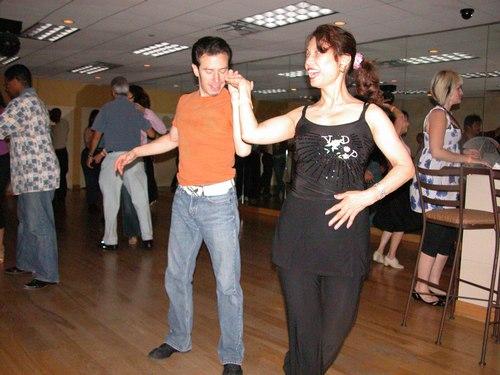 Erik and partner dance