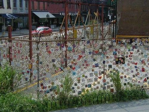 Memory Tiles in Greenwich Village