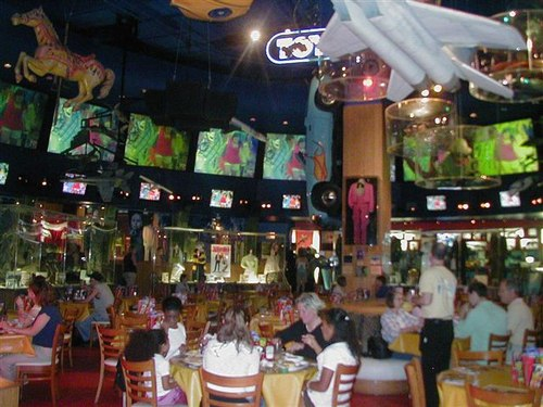 Planet Hollywood Interior