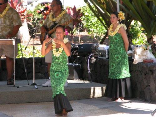 Hula Dancing at Keahole-Kona International Airport