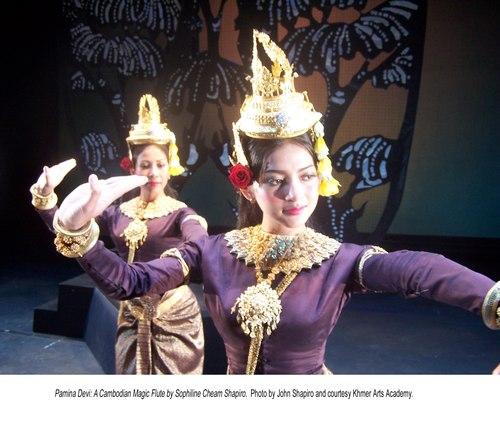 Pamina Devi: A Cambodian Magic Flute. By Sophiline Cheam Shapiro. In The Kingdom of the Sun. Courtesy Khmer Arts Academy.