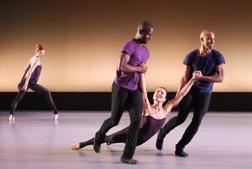 Mathew Neenan's 'Once Again' Dancers (Left to Right): Emily Wagner, Leyland Simmons, Anitra Nurnberger and Corey Baker.