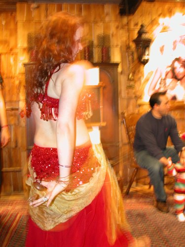 Belly Dancing at Versani