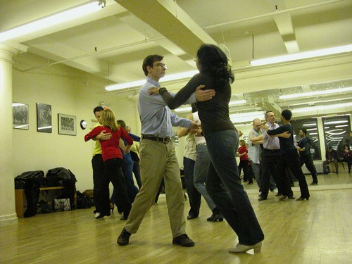 John Festa teaches West Coast Swing at Dance Manhattan
