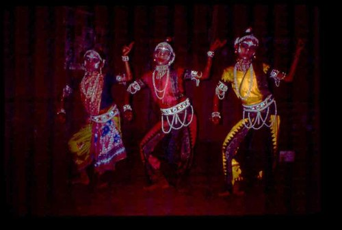 Gotipuas - 'boy dancers' - from village of Raghurajpur near the temple town of Puri.