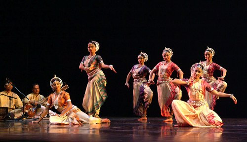 Nrityagram Dance Ensemble in performance.