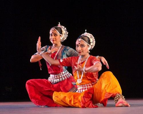 Surupa Sen (Artistic Director & choreographer) and Bijayini Satpathy (Director of the Odissi Gurukul dance training).