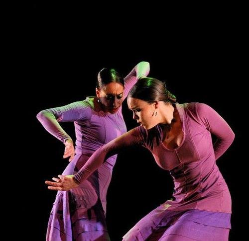 Belen Maya and Rocio Molina in ROMANCE DE ZAIDE Flamenco Festival 2008
