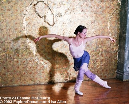 Deanna McBrearty dances <a href='http://www.exploredance.com/fashion021404.php'>The Flight of the Swan</a> <a href='http://www.exploredance.org/shop/cart.php?target=product&product_id=257&category_id=64'>Image also available as a greeting card.</a>