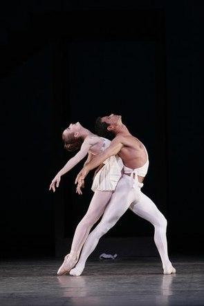 Julie Kent and Jose Manuel Carreño in <i>Apollo</i>.