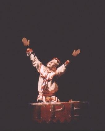 Julio Bocca in <i>Petrouchka</i>.
