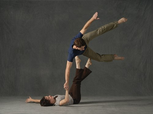 GroundWorks Dancetheater's Amy Miller and Damien Highfield