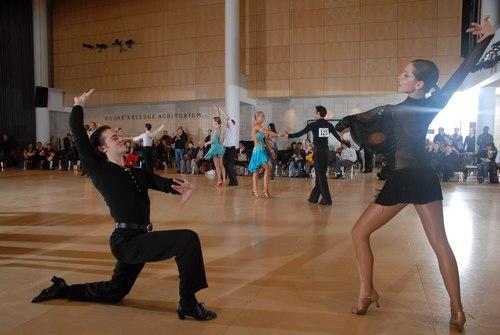 The Big Apple Dancesport Challenge Columbia University Ballroom Dance Team Session 11 International Syllabus Paso Doble Couple: Chris Scotton & Sasha Roudenko