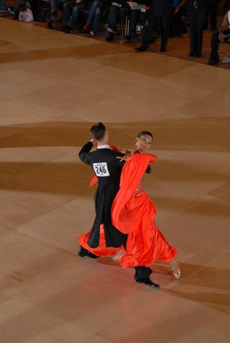 The Big Apple Dancesport Challenge Columbia University Ballroom Dance Team Session 14 International Championship Standard