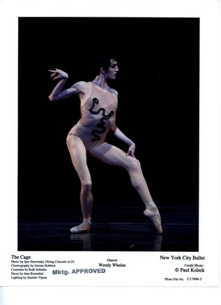 Wendy Whelan in <i>The Cage</i>
