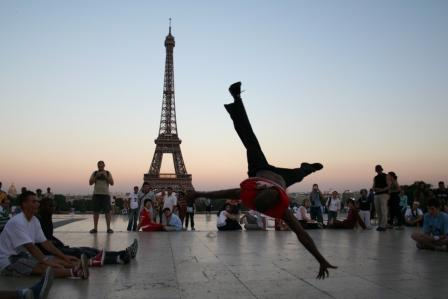 A Parisian B-Boy