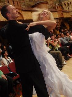 Jonathan Wilkins and Hazel Newberry.